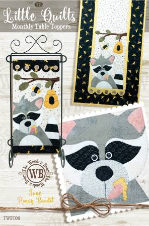 Block Of The Month June Honey Bandit
