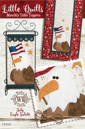 July Eagle Salute Table Runner KIT