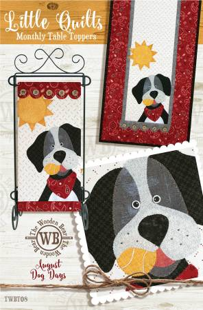 Block Of The Month August Dog Days