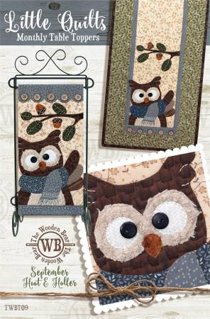 Block Of The Month September Hoot and Holler