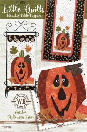 Block Of The Month October Halloween Treat
