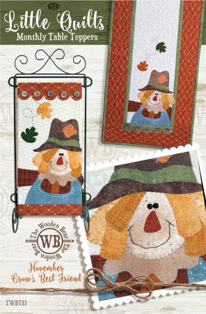 Block Of The Month November Crow's Best Friend