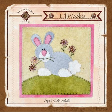 Lil Woolies Block Of the Month April Cottontail