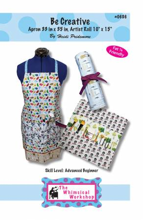 Be Creative! Apron and Brush Roll
