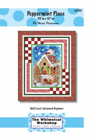 Whimsical Workshop Peppermint Place Pattern 55 x 67