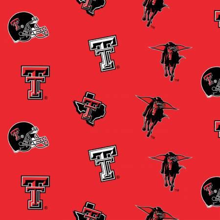 Red Texas Tech Flat