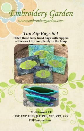 Top Zipper Bags Set