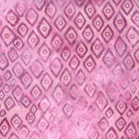 Pink Diamonds Batik