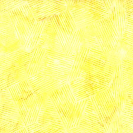 Yellow Lines Batik