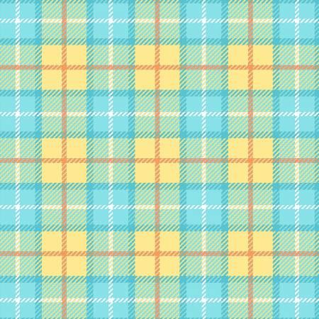 Yellow Medium Primo Plaid Flannel