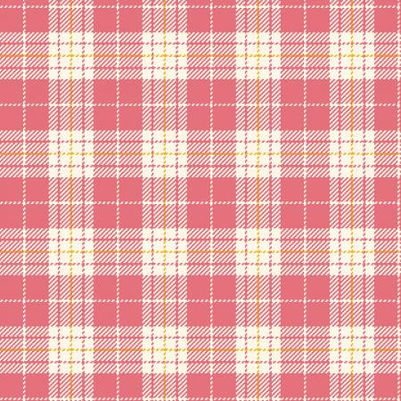 Primo Plaid Yarn Dyed Flannel - Red/White