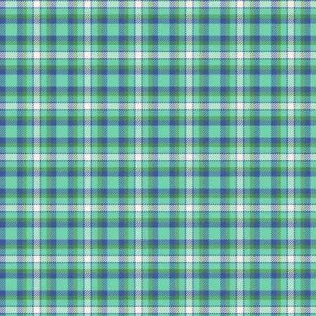 Primo Plaid Yarn Dyed Flannel - Green/Blue