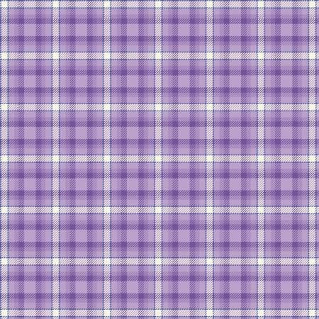 Primo Plaid Yarn Dyed Flannel - Purple