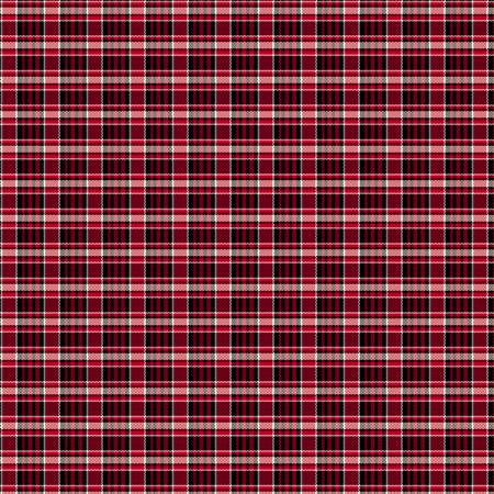 Primo Plaid Yarn Dyed Flannel - Red/Black