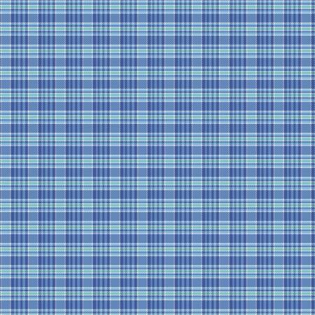 Primo Plaid Yarn Dyed Flannel - Blue
