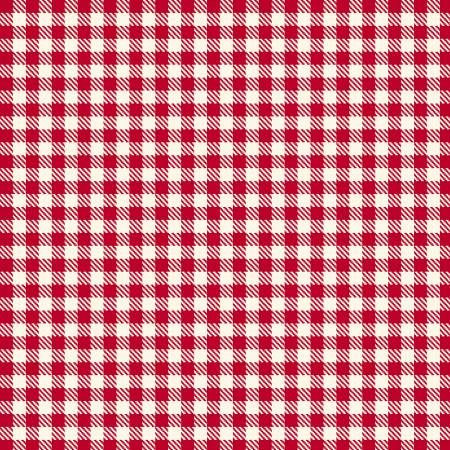 Primo Plaid Yarn Dyed Flannel - Red