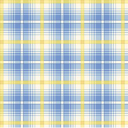 Primo Plaid Yarn Dyed Flannel - Blue/Yellow