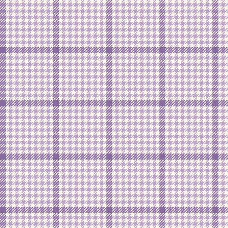 Primo Plaid Yarn Dyed Flannel - Purple White