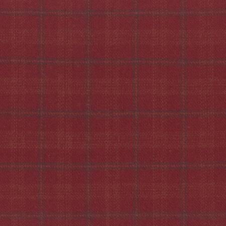 MF Primo Plaid Yarn Dyed Flannel - Red