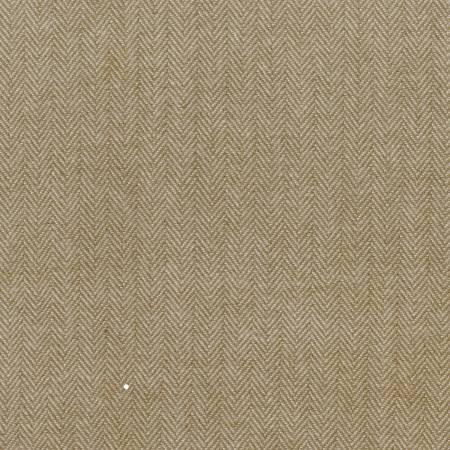 Primo Flannel - Khaki Herringbone