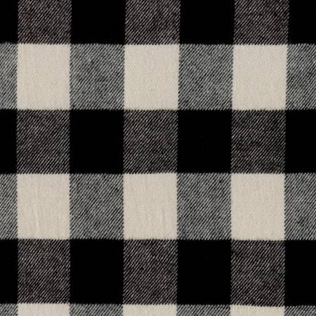 Primo Plaid Flannel BLACK/WHITE BUFFALO PLAID