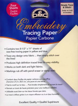 Embroidery Transfer Paper by DMC