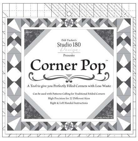 Corner Pop Template by Studio 180 Design