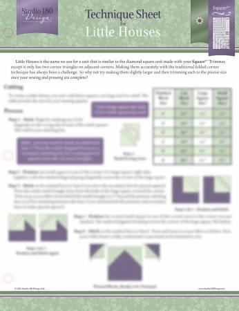 Little Houses Tech Sheet