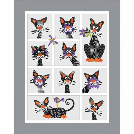 Alley Catz Applique Quilt Kit