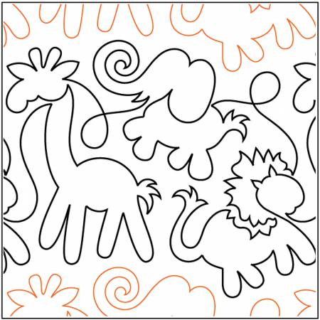 Paper Pantograph 9.5in Animal Crackers Pantograph