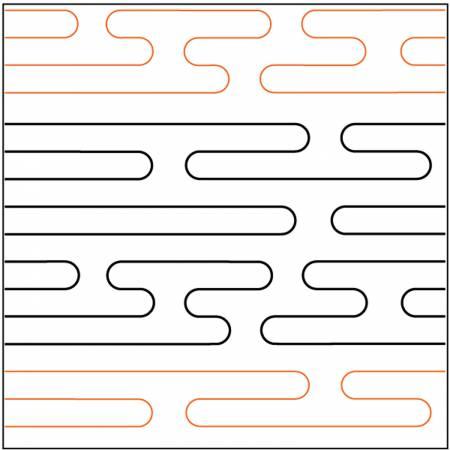 Paper Pantograph 6in Maze Pantograph