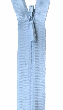 Unique Invisible Zipper Powder Blue 9in