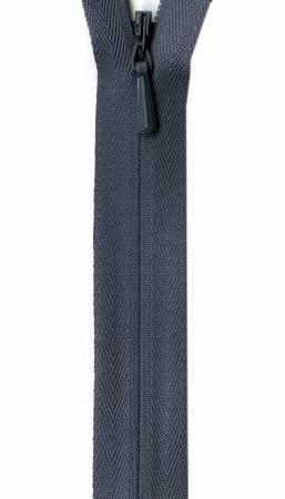 Unique Invisible Zipper Grey 14in
