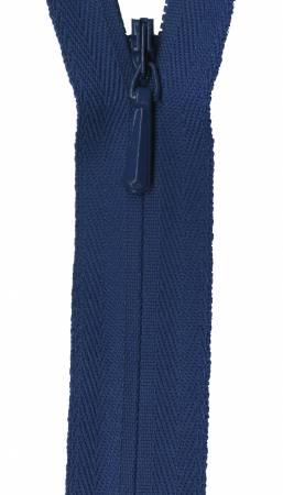 Unique Invisible Zipper Royal 18in