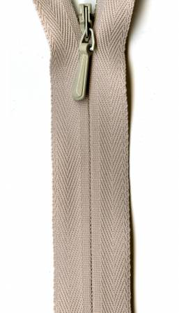 Unique Invisible Zipper Natural 22in