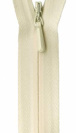 Unique Invisible Zipper Cream 22in