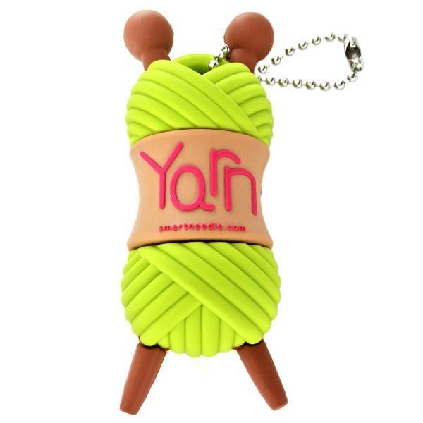 4GB USB Drive Yarn Skein Green