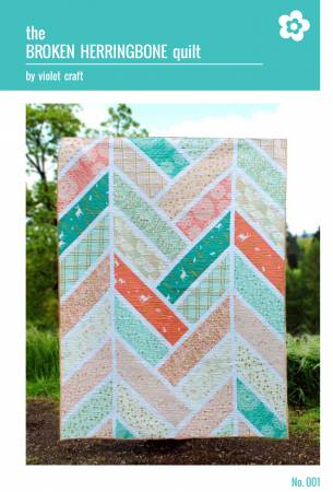 Broken Herringbone Quilt Pattern