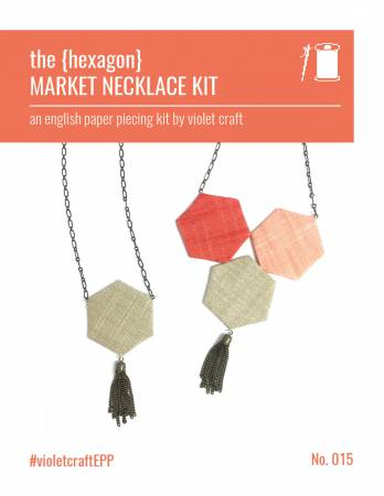 Hexagon Market Necklace Kit