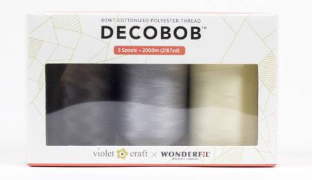 DecoBob set of 3 - Violet Craft