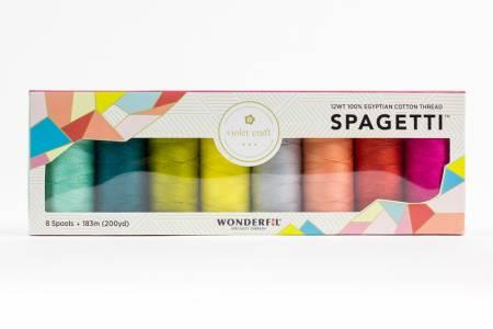 Spagetti 8-Spool Thread Set Violet Craft