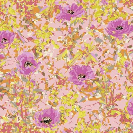 Victoria Findlay Wolfe - Wild Acres - Poppy  Pink