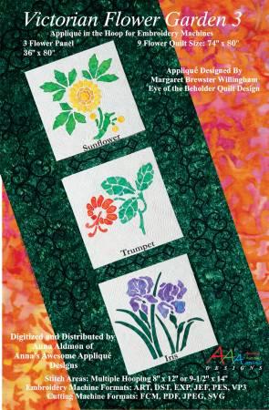 Victorian Flower Garden 3