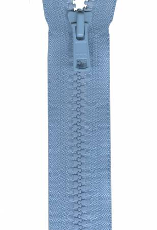 Fastrak Separating Zipper 24in  Comet Blue