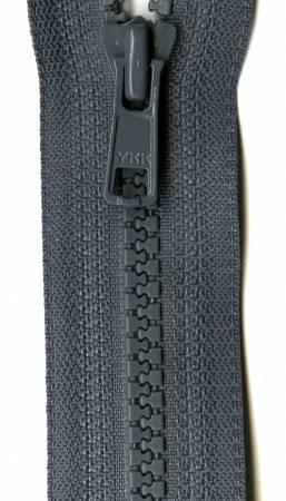 Gray Zipper