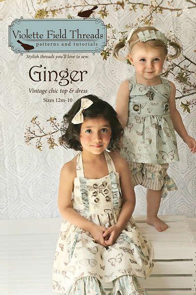 Violet Fields Threads  Ginger