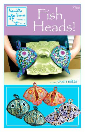 Fish Heads Oven Mitts Pattern