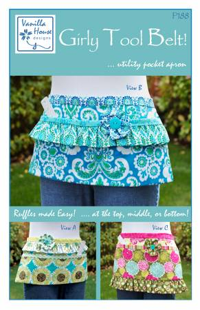 Girly Tool Belt Utility Pocket Apron Pattern