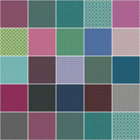 10in Squares Vintage, 42pcs/bundle