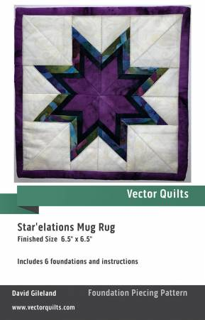 Star'elations Mug Rug 6 Pack
